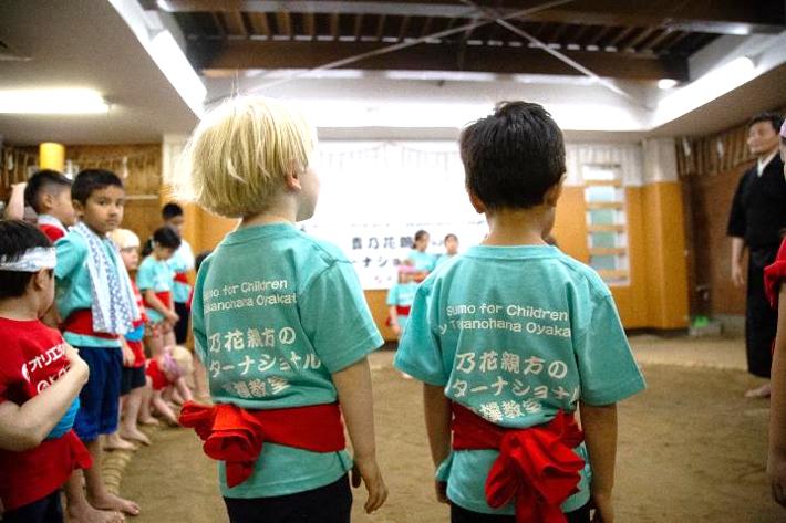 「貴乃花親方のインターナショナル相撲教室」限定Tシャツ