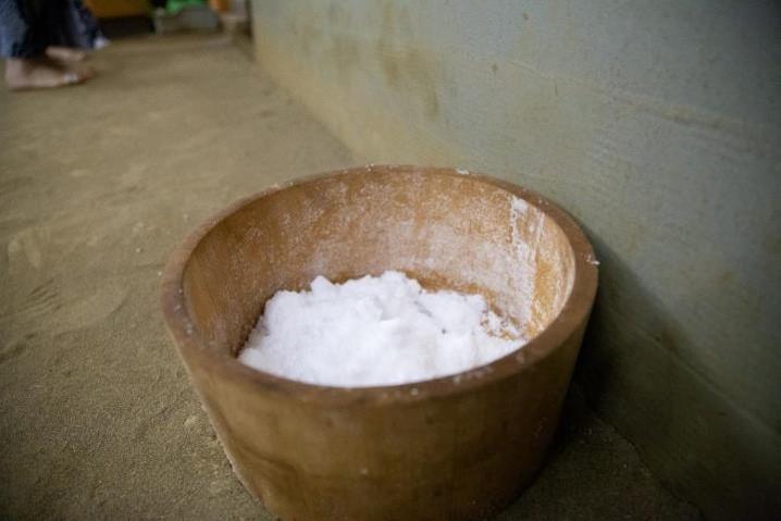 「貴乃花親方のインターナショナル相撲教室」の清め塩